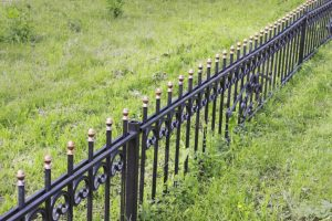 this image shows electric fence installation in san diego