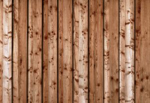 this image shows redwood fence in San Diego, California